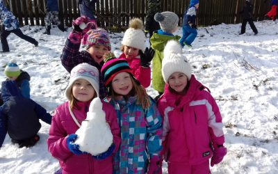 Zimski športni dan 1. triade – Igre na snegu