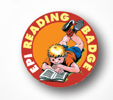 EPI READING BADGE – Angleška bralna značka