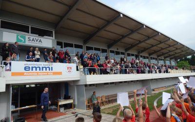 NOGOMETNI KROŽEK: 1 festival nogometa v Sl. Bistrici