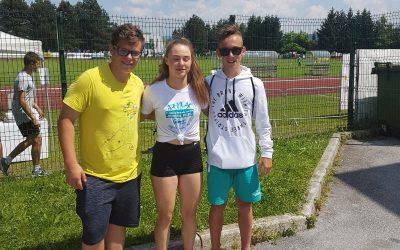 Državno tekmovanje v atletiki 2019 v Žalcu