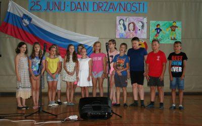 Zadnji šolski dan – Matična šola