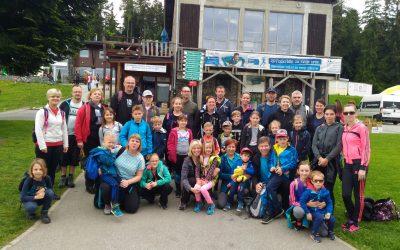 Planinci zaključili planinsko šolsko leto na Pohorju
