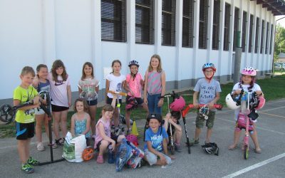 Utrinki s počitniških delavnic v projektu Popestrimo šolo junij-julij