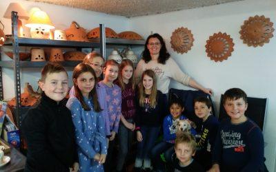 Obisk lončarske delavnice