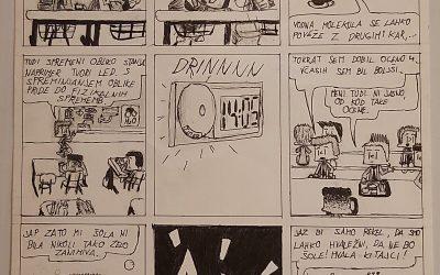 Spletni natečaj Protistrip – s stripom proti virusu