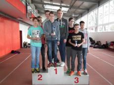 Medobčinsko dvoransko atletsko tekmovanje - mnogoboj